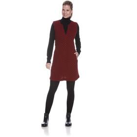 Tatonka Kolma Vestido Mujer, rojo